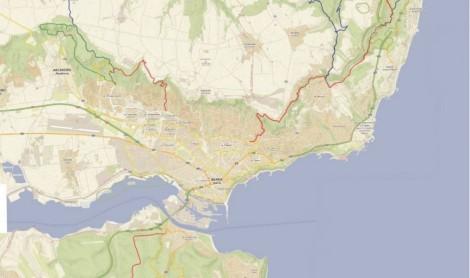 Napraviha Digitalna Karta S 14 Turisticheski Marshruta Kraj Varna